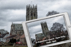 St Augustines Church is open.
