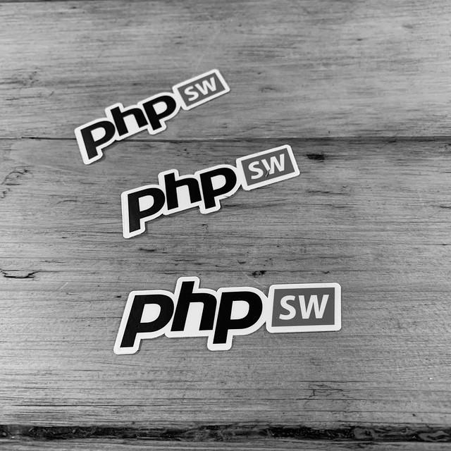 PHPSW stickers