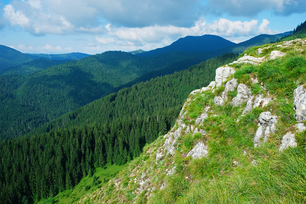 Short Hikes in Transylvania: Kis-Cohard peak, Transylvania, Romania