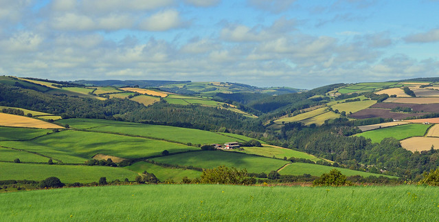 Holiday begins, Nettlecombe, Somerset, England