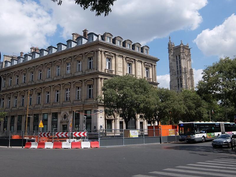 Париж - Башня Сен-Жак