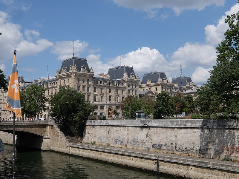 Париж - Красивое здание