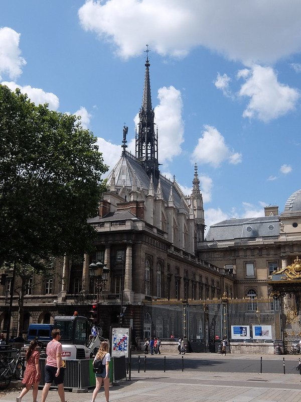 Париж - Часовня Сен-Шапель