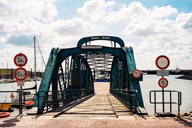 Nassaubrücke, Wilhelmshaven