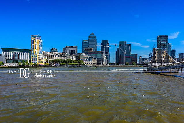 Into The Blue - Canary Wharf, London, UK