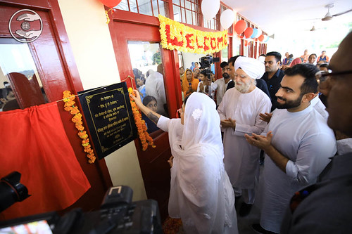 HH inaugurating Satsang Bhawan at Bhawanigarh