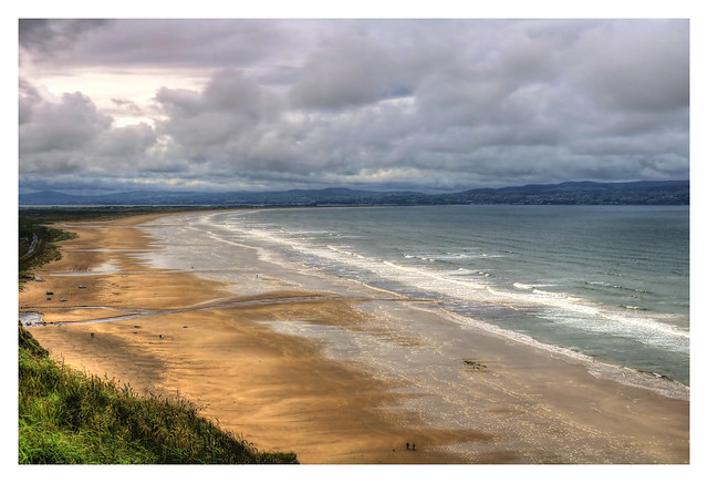 Castlerock NIR - Downhill seashore
