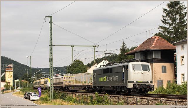 railadventure 111 222-6 @ Königstein (Sächsische Schweiz)