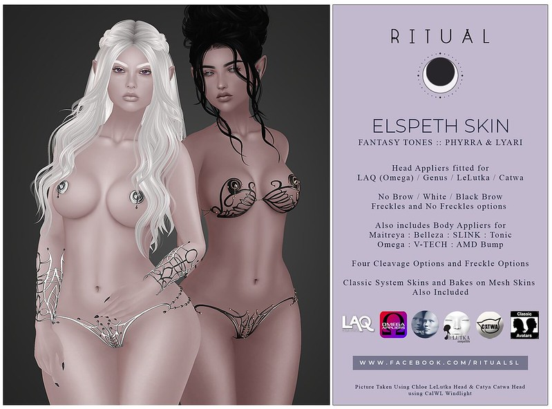 Elspeth Skin - Fantasy Tones - Phyrra & Lyari GG
