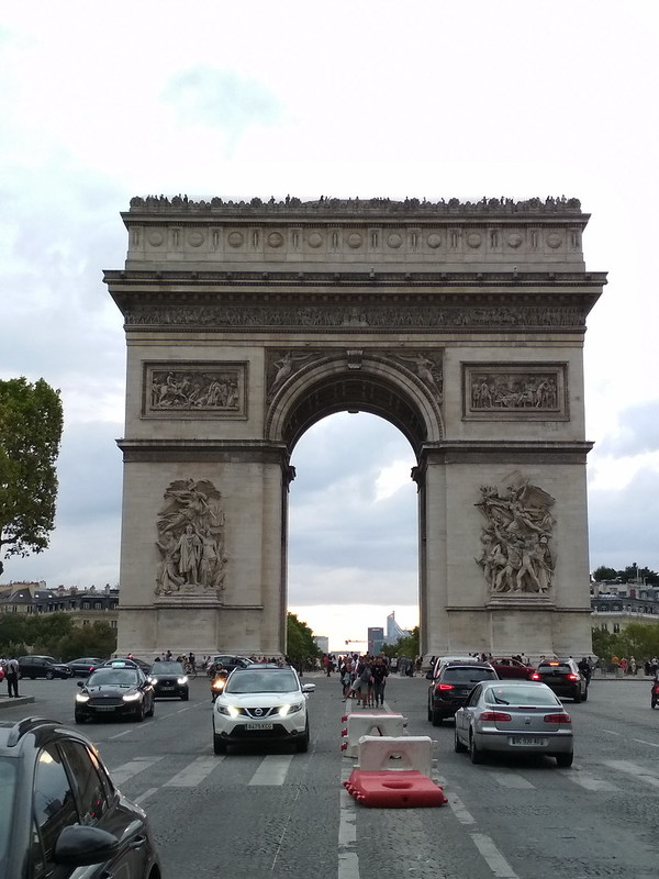 Париж - Триумфальная арка
