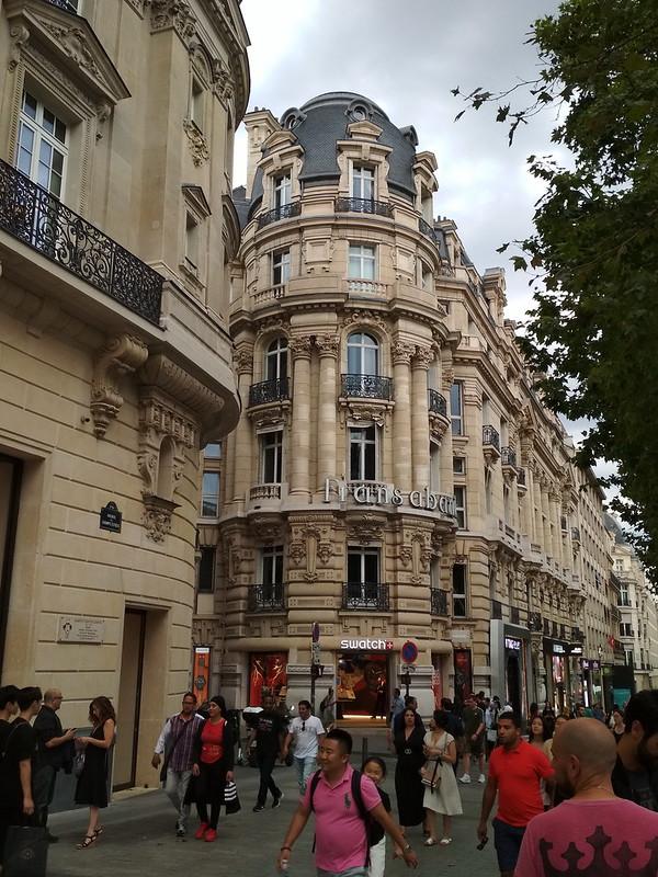 Париж - Дом на Елисейских полях
