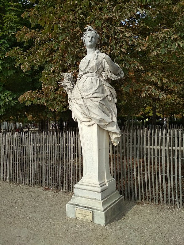 Париж - Сад Тюильри - Церера