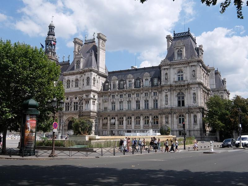 Париж - Отель-Де-Виль