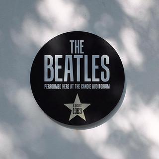 Beatles Plaque / Candie Gardens