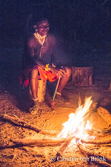 Samburu by the fire