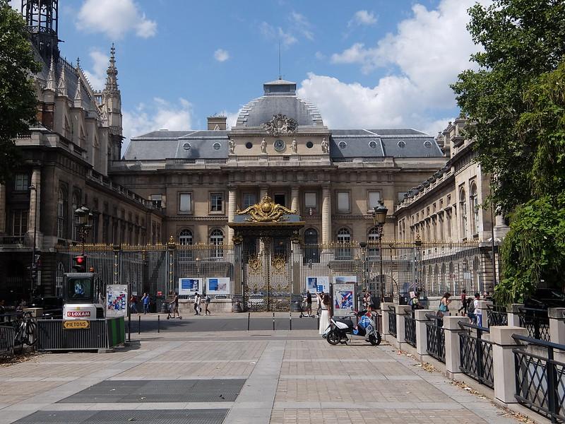 Париж - Дворец правосудия