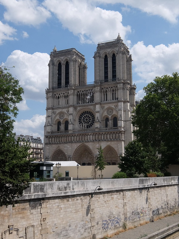 Париж - Собор Парижской Богоматери