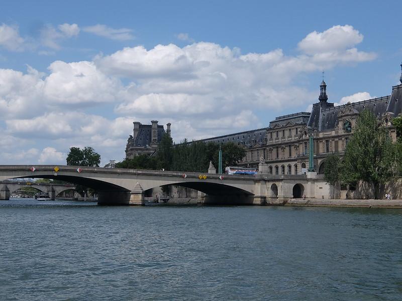 Париж - Мост через Сену