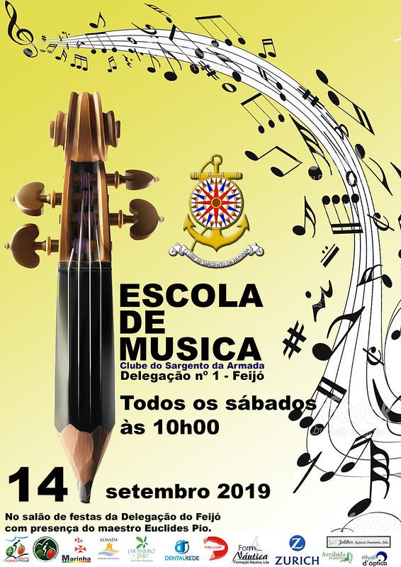 Cartaz Escola de Musica 2019