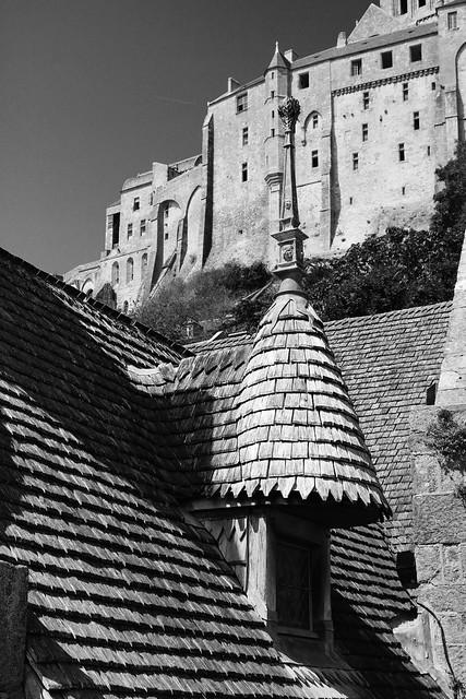 Coiffée de châtaigner, Mont-Saint-Michel