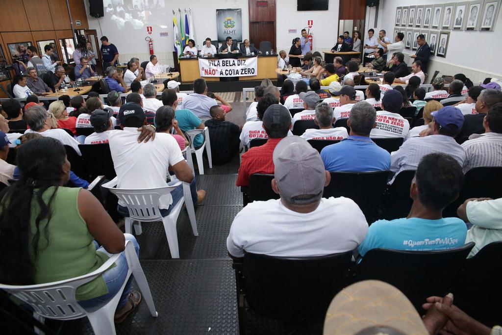 Audiência pública para debater o Projeto de lei estadual para o desenvolvimento da pesca