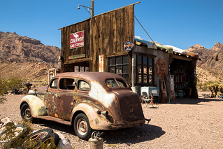 Nelson ghost town, Nevada.