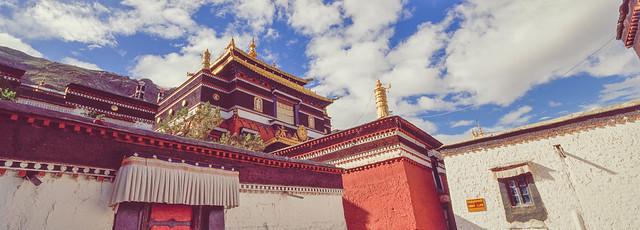西藏札什伦布寺(The Tashihunpo Monastery)