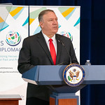 Photos of U.S. Secretary of State Michael R. Pompeo and State Department leadership in Washington, D.C., during the month of September 2019.
