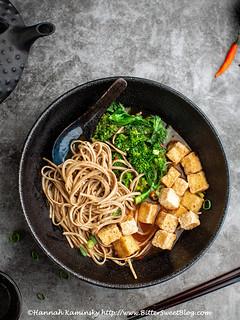 General Tso's Noodle Soup