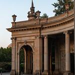 Eckpavillon der Spittelkolonnade