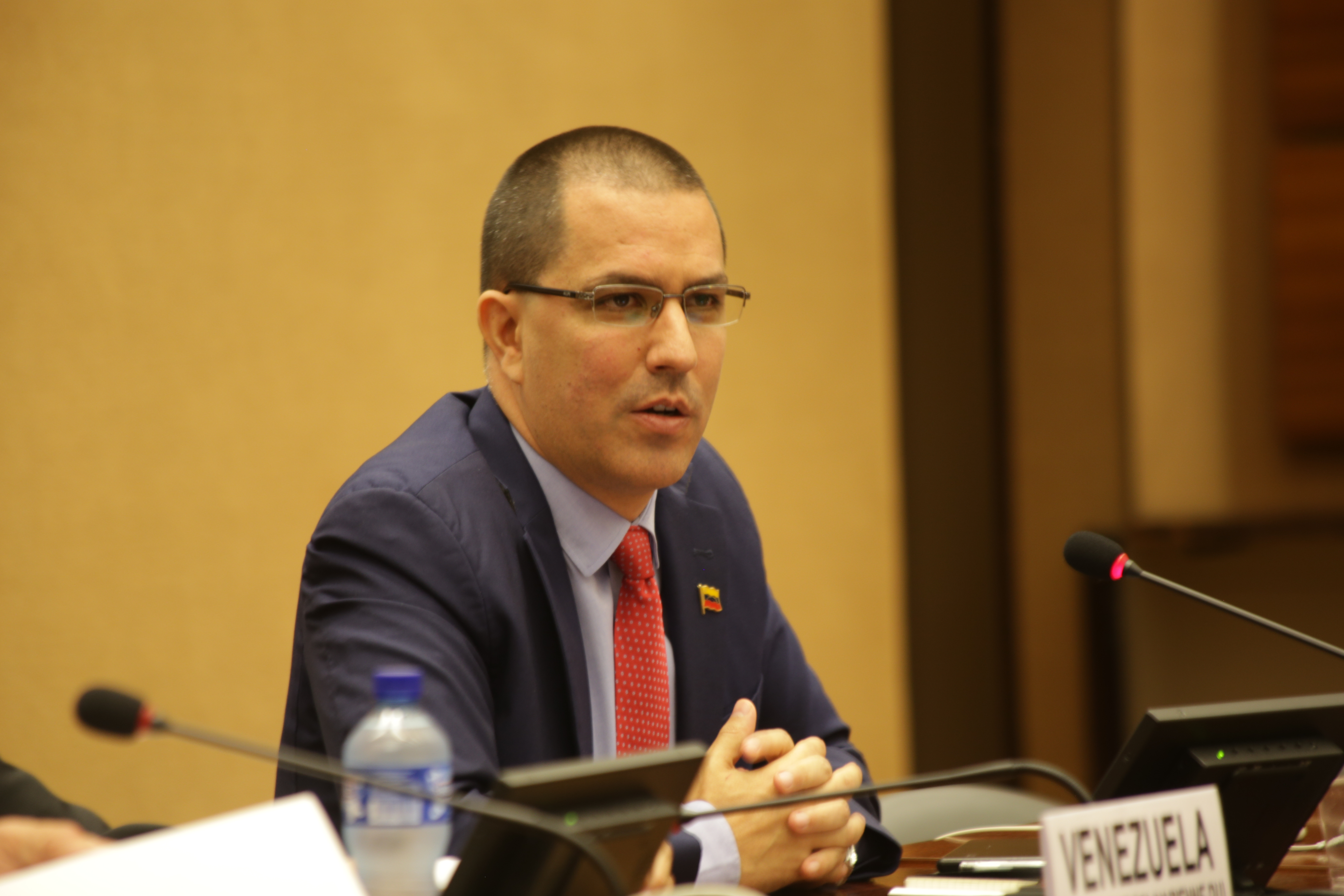 Canciller Arreaza participa desde la ONU-Ginebra en Foro sobre Medidas Coercitivas Unilaterales