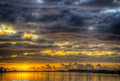 photomatix on1photoraw nikon d7100 sunset water