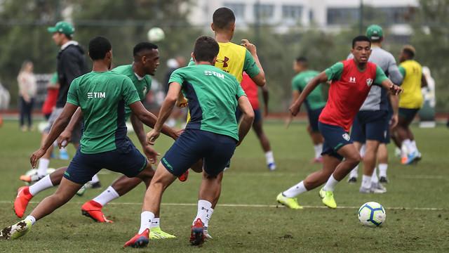 Treino do Fluminense - 13/09/2019