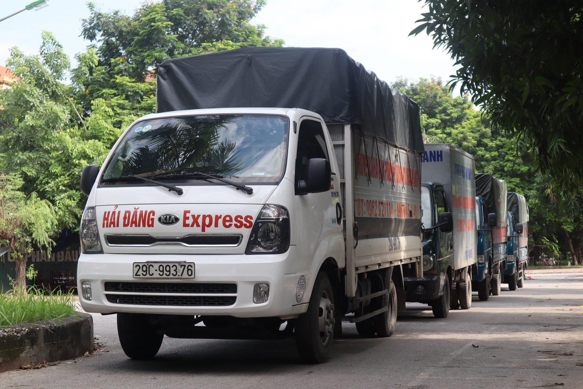 Dịch vụ cho thuê xe tải chở hàng Hải Đăng mang đến nhiều lợi ích hấp dẫn