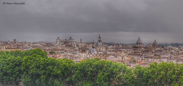 Da Castel Sant'Angelo un altro sguardo su Roma