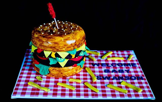 The Cheeseburger Cake by Caking at Midnight
