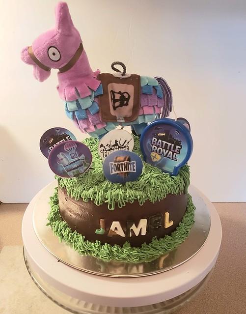 Fortnite Cake by Tammie Cakes