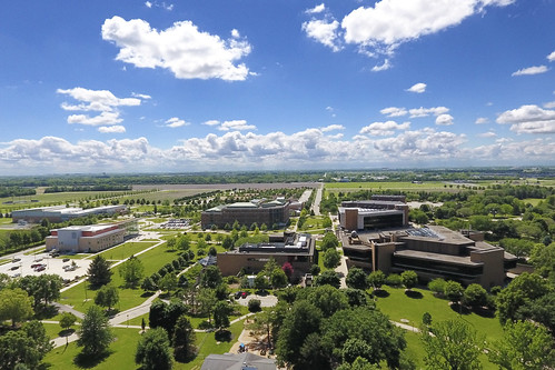 UIS Campus Aerial View