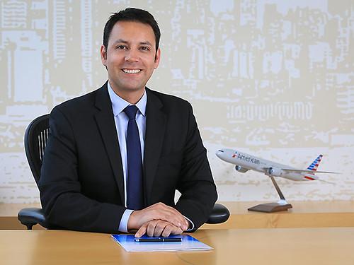 American Airlines Matias Rojas, grte Ventas Chile (American Airlines)