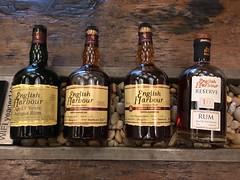 Just some Antiguan rum