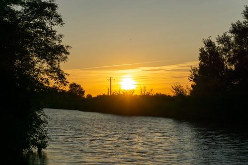 Canal du Midi sunset