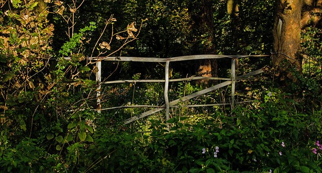 Old country gateway