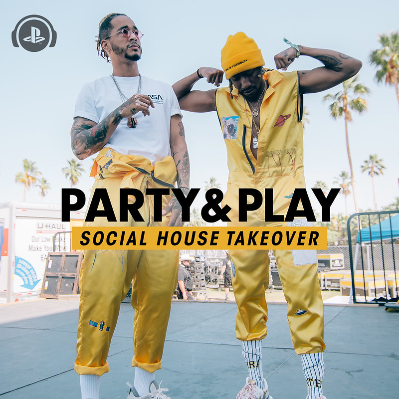 Social House Party and Play Takeover