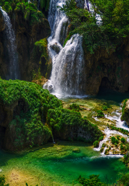 Plitvice - wodospady
