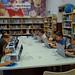 Taller de Minecraft, na Biblioteca Infantil e Xuvenil (Durán Loriga)