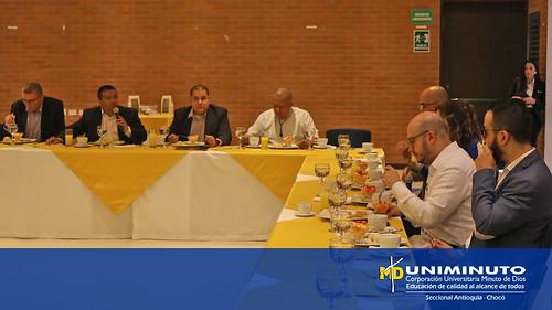 El Alcalde de Medellín habló sobre perspectivas educativas en UNIMINUTO Sede Bello