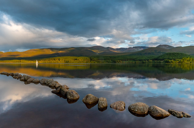 Last light on the Cairngorms