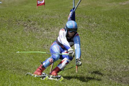 SP v travním lyžování: Martin Barták odstartoval finále vítězstvím