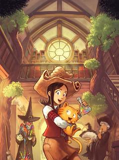 ウェブコミック『Pepper&Carrot』とフリー(自由)でオープンソースでパーミッシブなライセンス