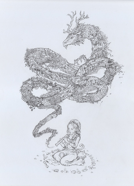 drawing_dragon_A3_Not-available